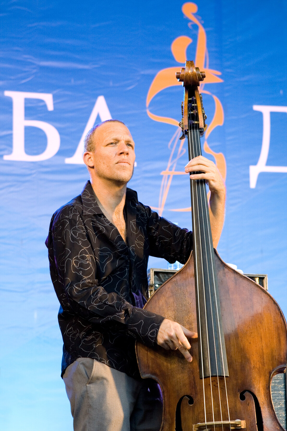 Avishai Cohen jazz bass guitarist musician portrait photo